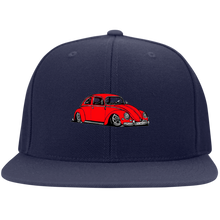 Load image into Gallery viewer, Vintage Buggy Embroidered Snapback, - Aircooled VW - Vintage Vdub