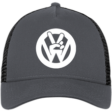 Load image into Gallery viewer, Peace Sign New Era® Trucker, - Aircooled VW - Vintage Vdub