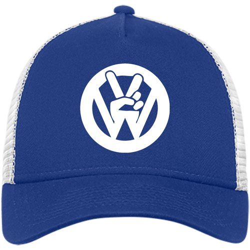 Peace Sign New Era® Trucker, - Aircooled VW - Vintage Vdub