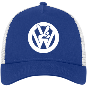 Peace Sign New Era® Trucker - Vintage Vdub
