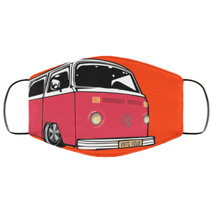 Face Mask Red Bay (Multiple colors), - Aircooled VW - Vintage Vdub