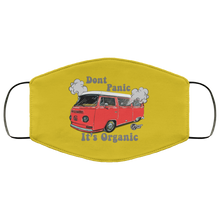 Load image into Gallery viewer, Face Mask Don't Panic It's Organic (Multiple colors), - Aircooled VW - Vintage Vdub