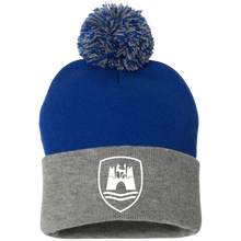Load image into Gallery viewer, Wolfsburg Pom Beanie, - Aircooled VW - Vintage Vdub