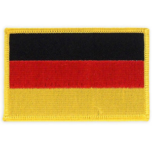 "German Flag 3.5"" X 2"", - Aircooled VW - Vintage Vdub"