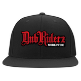 DubRiderz Embroidered Flexfit (Red)