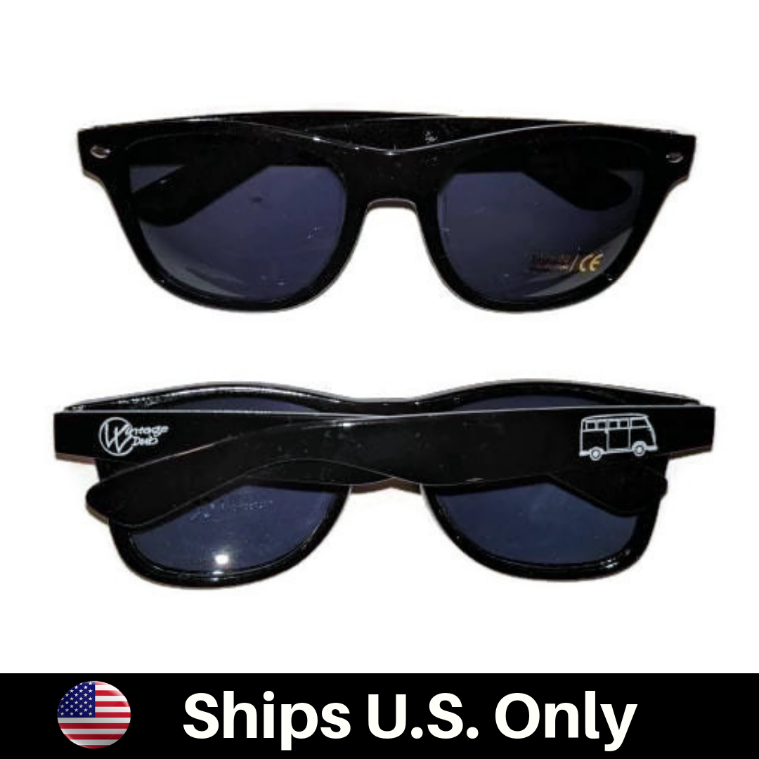 Bus Sun Glasses Black UV 400 - Vintage Vdub
