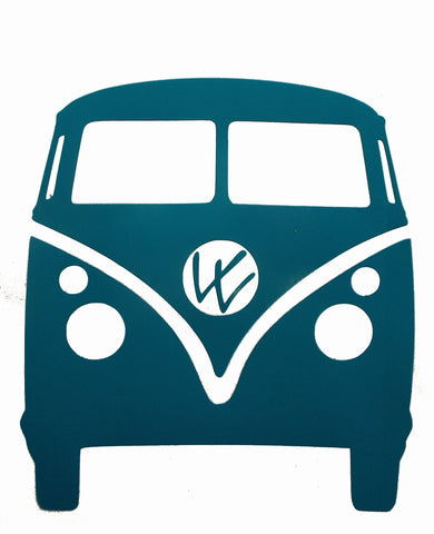 "Bus Decal 4"" Assorted Colors Available, - Aircooled - Vintage Vdub - Vw"