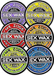 Sex Wax Sticker 3""