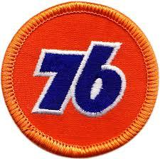 Union 76  Embroidered Patch