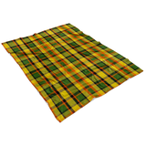 Westy Plaid Fleece Blanket - 30x40