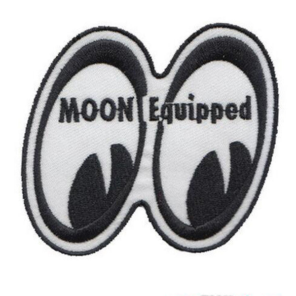 Moon Equipped Patch, - Aircooled VW - Vintage Vdub