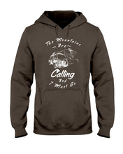 Load image into Gallery viewer, The Mountains Are Calling Hoodie - Vintage Vdub