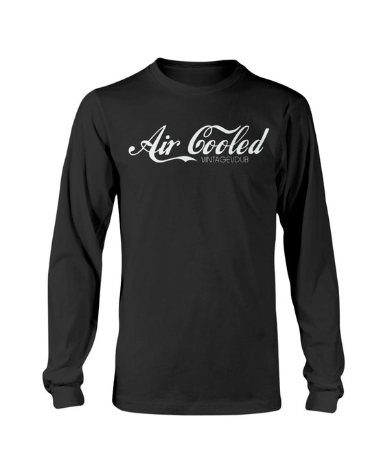 Air Cooled Men's Long Sleeve, - Aircooled VW - Vintage Vdub