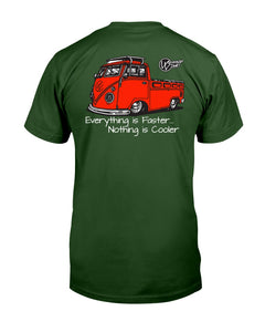 Single Cab Front & Back Print - Vintage Vdub