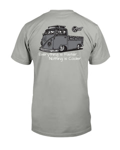 Single Cab Front & Back Print, - Aircooled VW - Vintage Vdub