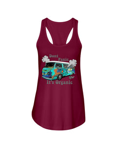 Don't Panic It's Organic Women's Racerback Tank Top - Vintage Vdub