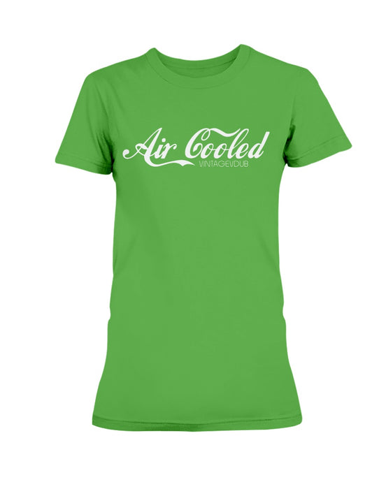 Air Cooled Women's T-Shirt, - Aircooled VW - Vintage Vdub