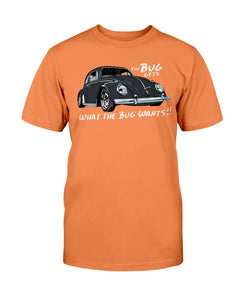 The Bug Gets What The Bug Wants Unisex T-Shirt, - Aircooled VW - Vintage Vdub