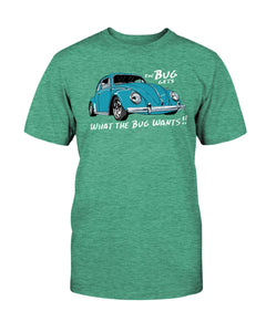 The Bug Gets What The Bug Wants Men's Tee, - Aircooled VW - Vintage Vdub