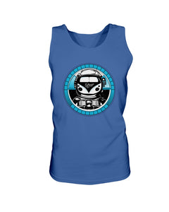 Space Truckin Men's Tank Top, - Aircooled VW - Vintage Vdub
