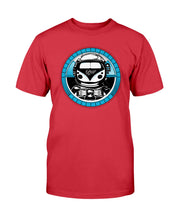 Load image into Gallery viewer, Space Truckin Unisex T-Shirt, - Aircooled VW - Vintage Vdub