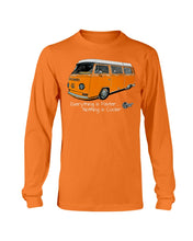 Load image into Gallery viewer, Everything Is Faster Nothing Is Cooler Men's Long Sleeve, - Aircooled VW - Vintage Vdub
