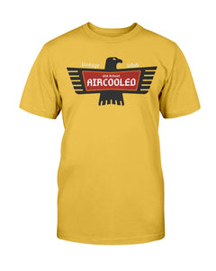 Old School Aircooled V.2 Men's Tee, - Aircooled VW - Vintage Vdub