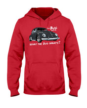 Load image into Gallery viewer, The Bug Gets What The Bug Wants Hoodie - Vintage Vdub