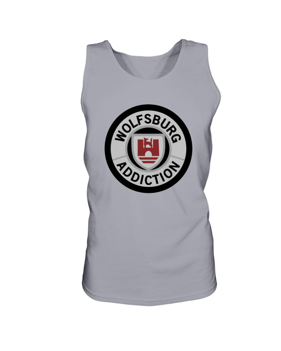 Wolfsburg Addiction Men's Tank Top, - Aircooled VW - Vintage Vdub