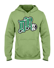 Load image into Gallery viewer, DubRiderz Shop Logo V.2  Men's Hoodie, - Aircooled VW - Vintage Vdub