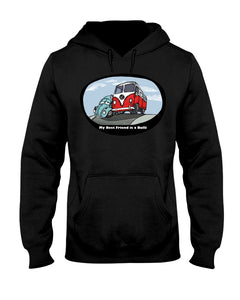 My Best Friend Is A Bulli Hoodie, - Aircooled VW - Vintage Vdub