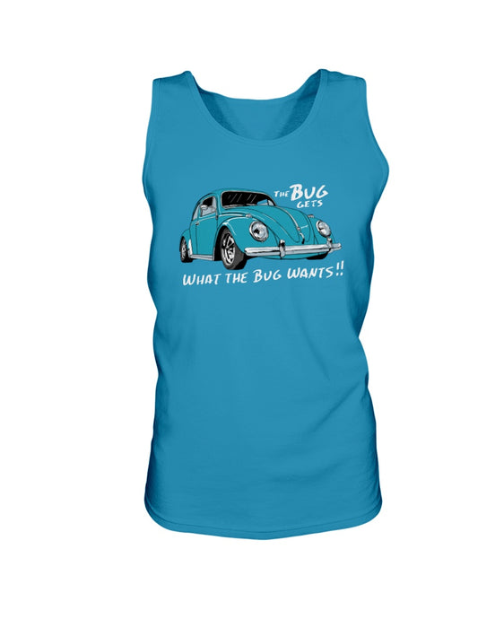 The Bug Gets What The Bug Wants Men's Tank Top, - Aircooled VW - Vintage Vdub