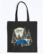 Load image into Gallery viewer, Moonlight Drive Canvas Tote - Vintage Vdub