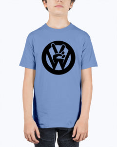Peace Sign Kids Tee, - Aircooled VW - Vintage Vdub