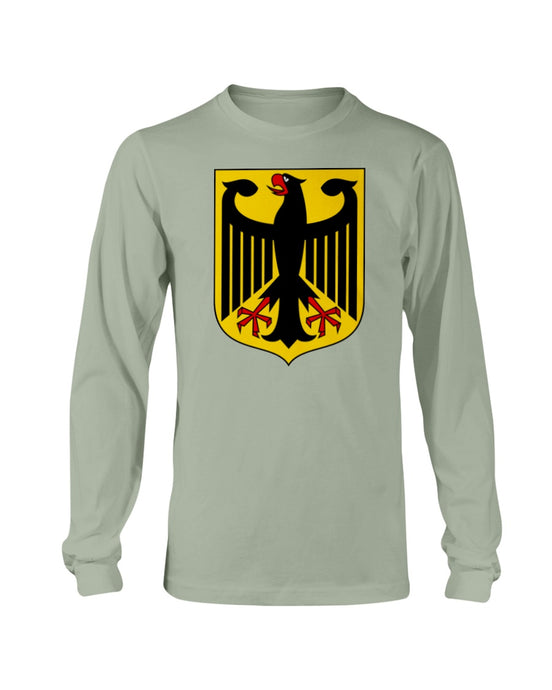 German Eagle  Men's Long Sleeve, - Aircooled VW - Vintage Vdub