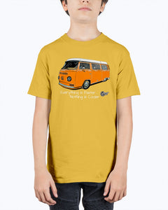 Everthing Is Faster Nothing Is Cooler Westy Kids T-Shirt - Vintage Vdub
