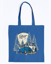 Load image into Gallery viewer, Moonlight Drive Canvas Tote, - Aircooled VW - Vintage Vdub