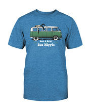 Load image into Gallery viewer, Bus Hippie Splitty Unisex T-Shirt (Distressed Vintage Print), - Aircooled VW - Vintage Vdub