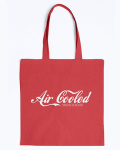 Air Cooled Canvas Tote, - Aircooled VW - Vintage Vdub