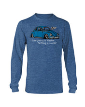 Load image into Gallery viewer, Everything Is Faster Nothing Is Cooler Men's Long Sleeve - Vintage Vdub