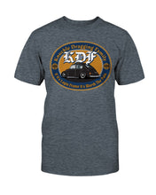 Load image into Gallery viewer, KDF Bug Unisex T-Shirt - Vintage Vdub