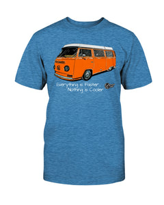 Everything Is Faster Unisex T-Shirt, - Aircooled VW - Vintage Vdub