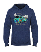 Load image into Gallery viewer, Don't Panic It's Organic Hoodie, - Aircooled VW - Vintage Vdub
