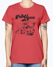 Load image into Gallery viewer, Fink Women's T-Shirt, - Aircooled VW - Vintage Vdub