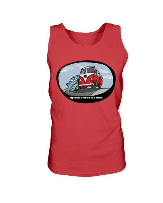 My Best Friend Is A Bulli Men's Tank Top, - Aircooled VW - Vintage Vdub