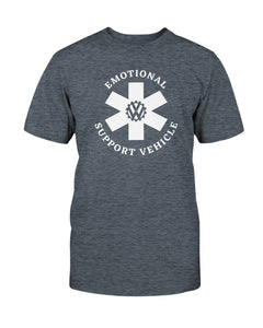 Emotional Support Vehicle Unisex T-Shirt, - Aircooled VW - Vintage Vdub