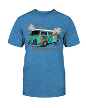 Load image into Gallery viewer, Don't Panic It's Organic Unisex T-Shirt - Vintage Vdub