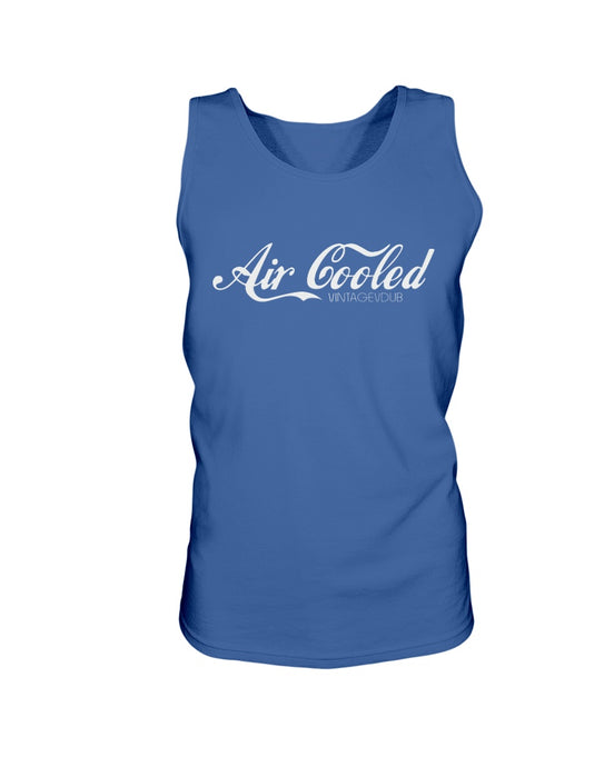 Air Cooled Men's Tank Top, - Aircooled VW - Vintage Vdub