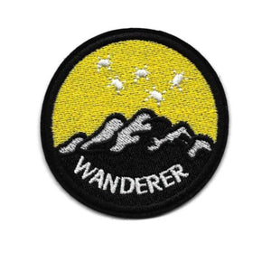 Wanderer Embroidered Patch, - Aircooled VW - Vintage Vdub