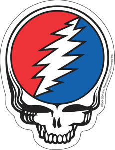 Grateful Dead Steal Your Face  Sticker, - Aircooled VW - Vintage Vdub